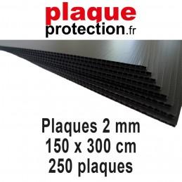250 plaques 150x300 cm - 2mm