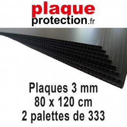 2 palettes 80x120 cm - 3mm