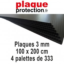 4 palettes 100x200 cm - 3mm