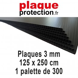 1 palette 125x250 cm - 3mm