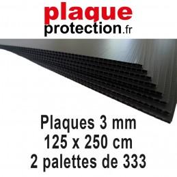 2 palettes 125x250 cm - 3mm
