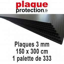 1 palette 150x300 cm - 3mm