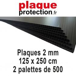 2 palettes 125x250 cm - 2mm