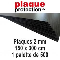 1 palette 150x300 cm - 2mm